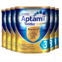 Aptamil 爱他美 金装奶粉3段 900g *6罐