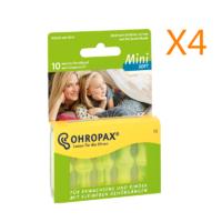 Ohropax mini soft 防噪音隔音柔软耳塞 睡眠耳塞 10只装 *4件