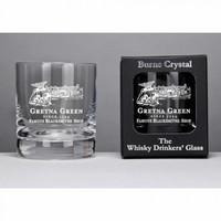 Burns 伯恩斯水晶威士忌酒杯 8盎司