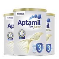 Aptamil 爱他美 铂金装奶粉 3段 900g 3罐