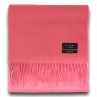 超值黑五 : Kiltane 茶玫瑰纯色高级羊绒围巾