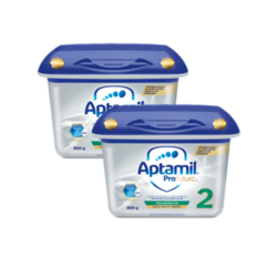Aptamil 爱他美 白金版 婴幼儿奶粉 2段 800g *2罐