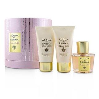 Acqua Di Parma 帕尔马之水 高贵玫瑰礼盒套装(香水100ml+沐浴露75ml+身体乳75ml)