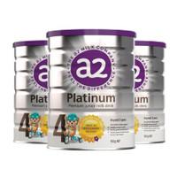 a2 艾尔 婴幼儿白金系列配方奶粉 4段 900g  3罐
