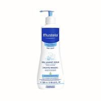【保税区 2瓶】MUSTELA/妙思乐 婴儿洗发沐浴二合一 500ML  有效期:2021-03-01