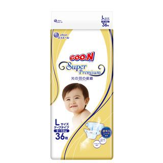 大王(GOO.N)  光羽系列 婴儿纸尿裤  L36片