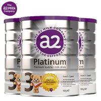 a2 艾尔 Platinum 白金版 婴幼儿奶粉 3段 900g 3罐