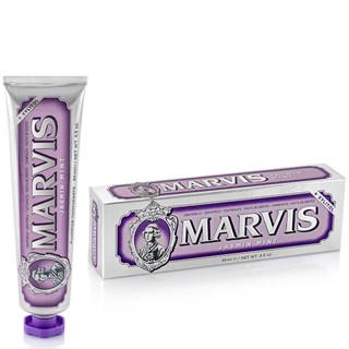 黑五全球购、银联专享 : MARVIS 玛尔斯 茉莉花薄荷洁齿牙膏 85ml