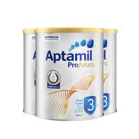 Aptamil 爱他美 铂金装奶粉 3段 900g*3罐
