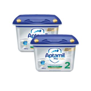 Aptamil 爱他美 白金版婴儿配方奶粉 2段(6-12个月)800g*2罐