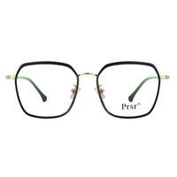 帕莎Prsr_PT66283 C010-1_合金_女士黑色全框眼镜架