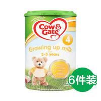 Cow&Gate 牛栏  婴幼儿奶粉 4段 800g*6罐