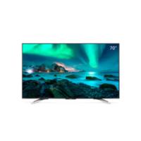 SHARP 夏普70X9A 70英寸 4K超高清 日本原装液晶面板 高音质杜比DTS双解码 液晶平板电视(钛灰)