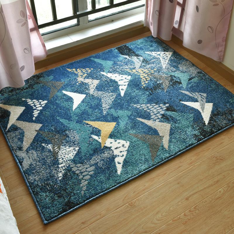 绅士狗 鱼跃B-SKY 北欧现代简约地毯 0.85米*1.2米 重约4.2斤