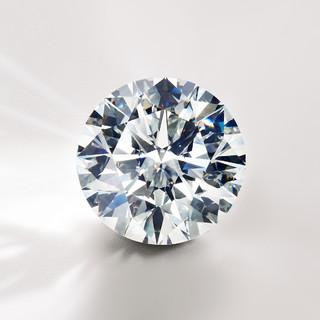 Blue Nile 0.50克拉圆形钻石 Astor顶级切工 G色VS2 【领券减800元】