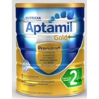 Aptamil 澳洲爱他美 金装加强型婴幼儿配方奶粉 2段 900g