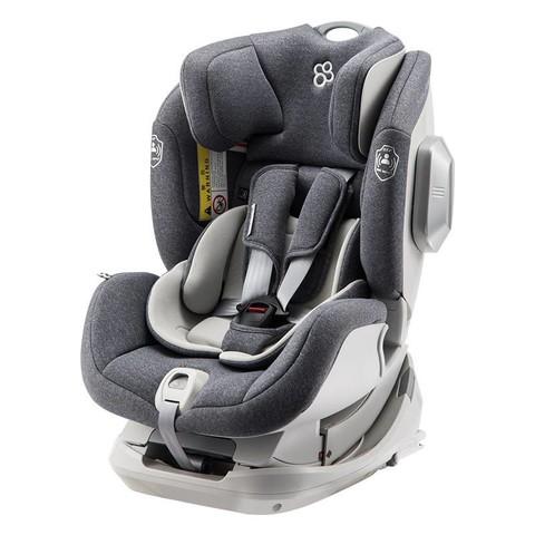 宝贝第一(Babyfirst)宝宝汽车儿童安全座椅 isofix接口(约0-4-6岁)Genius灵犀系列 北极灰