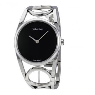 Calvin Klein 卡尔文·克雷恩 Round系列 K5U2S141 女士腕表