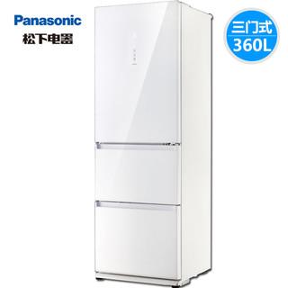 Panasonic 松下 NR-EC35AG0-W 三门冰箱 360L