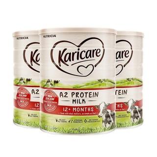 Karicare 可瑞康 A2蛋白牛奶粉 3段 900g *3件