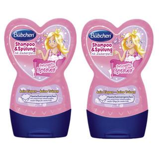 Buebchen 宝比珊 粉红公主洗发乳护发素二合一 230ml 2瓶装