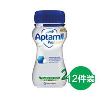 Aptamil 爱他美  婴儿液体奶 2段 6-12个月 200ml*12瓶