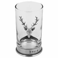English Pewter Company 牡鹿饮料玻璃杯  4盎司
