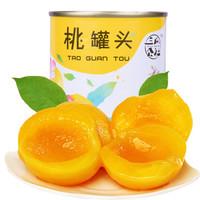 San Gua Gong She 三瓜公社 黄桃罐头 425g*5罐