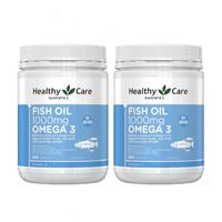 超值黑五:Healthy Care 深海鱼油 1000mg 400粒 *2件