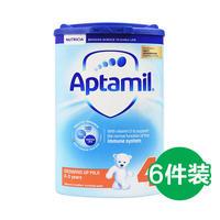 Aptamil 英国原装 爱他美奶粉4段 800g*6罐