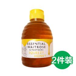 waitrose 维特罗斯 waitrose 纯清澈蜂蜜 挤压罐装 454g*2瓶