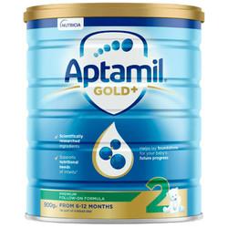 Aptamil 澳洲爱他美 金装加强型婴幼儿配方奶粉(3段)1岁+ 900g *3件