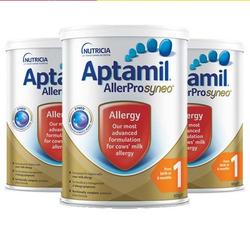 Aptamil 爱他美 Syneo 爱他美深度水解奶粉1段 0-6个月 900g *3罐