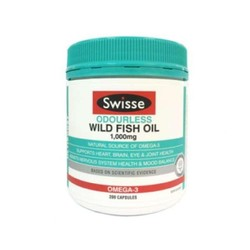 Swisse 无腥味深海鱼油 1000mg 200粒