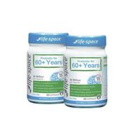 银联返现购:Life Space 老年人益生菌 调节肠胃免疫力 60岁以上 60粒  2件装