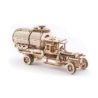 Ugears 木质机械传动模型 水罐车
