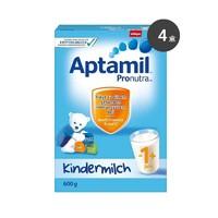 Aptamil 德国爱他美 婴幼儿奶粉 1+段 600g*4罐