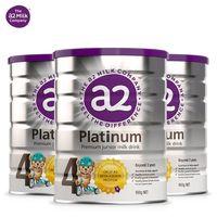 a2 艾尔 婴幼儿白金系列配方奶粉 4段 900g*3罐