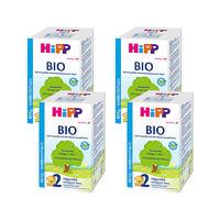 Hipp 喜宝有机配方奶粉 2段 (6-10个月) 600g *4盒