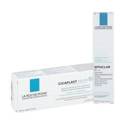 LA ROCHE-POSAY 理肤泉 祛痘套装(清痘焕肤K乳+B5舒缓修护霜)