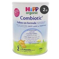2罐装 HiPP喜宝 德国喜宝有机益生元婴幼儿奶粉 HiPP 2段6-12个月900g