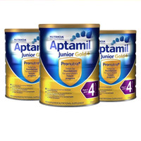Aptamil 爱他美 金装 婴幼儿配方奶粉 4段 900g*3罐