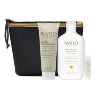 Natio 男士套装(男士日常保湿30倍防晒+50倍防晒霜+30倍防晒唇膏+洗护包)