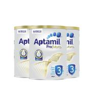 银联专享:Aptamil 爱他美白金装婴儿奶粉 3段 1岁以上 900g*3