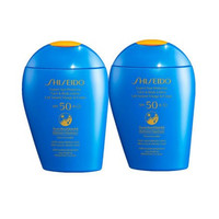 银联返现购:Shiseido 资生堂 新艳阳夏臻效水动力防护乳 SPF50+ 150ml*2